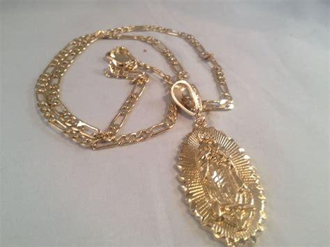 cadenas de oro rosario virgen de guadalupe cadena oro k rosario sinaloense our