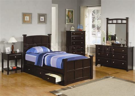 jasper 4 pcs twin bedroom set bed nightstand dresser