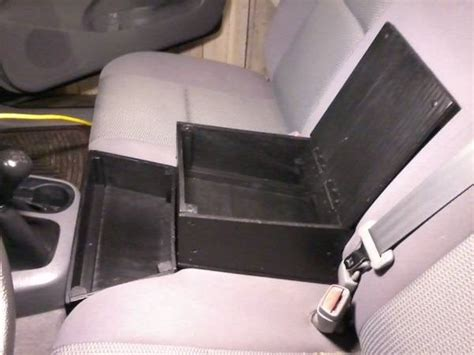 bench seat armrest console plywood armrest console box and tray for 2nd gen reg cab