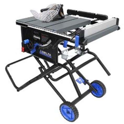 Delta Portable Table Saw by Delta 36 6020 Portable Table Saw With Stand Mike S Tools