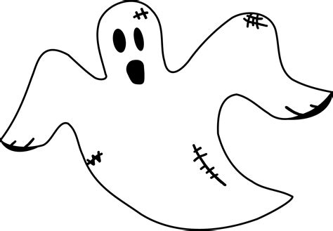 imagenes de calaveras y fantasmas dibujos de fantasmas para iluminar