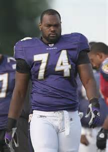 the blind play michael oher