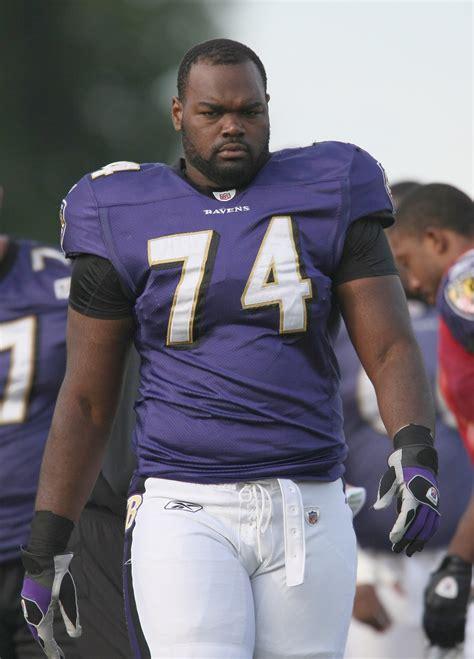 Blind Side Football Player Baltimore Ravens File Michael Oher Jpg Wikipedia
