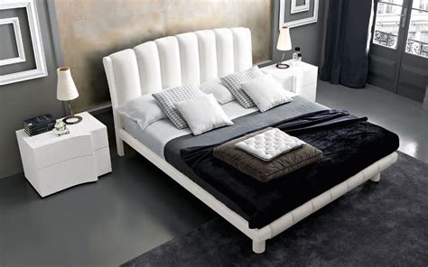 made in italy leather modern platform bed with optional storage system san jose california vsmaarm