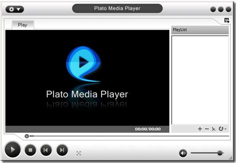 Multimedia Player plato media player