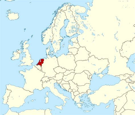 netherlands world map location large location map of netherlands in europe netherlands