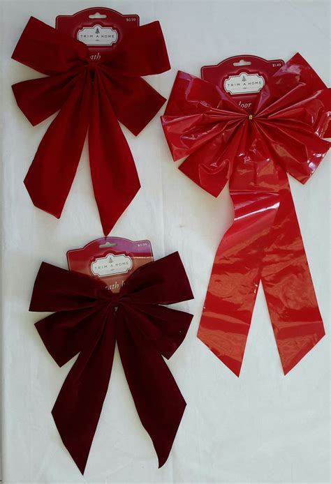 wholesale resale lot of 73 holiday christmas wreath bows