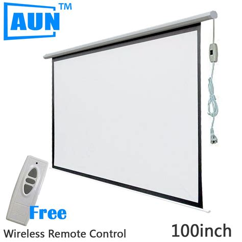 120 inch motorized projector screen buy wholesale electric projector screen from china