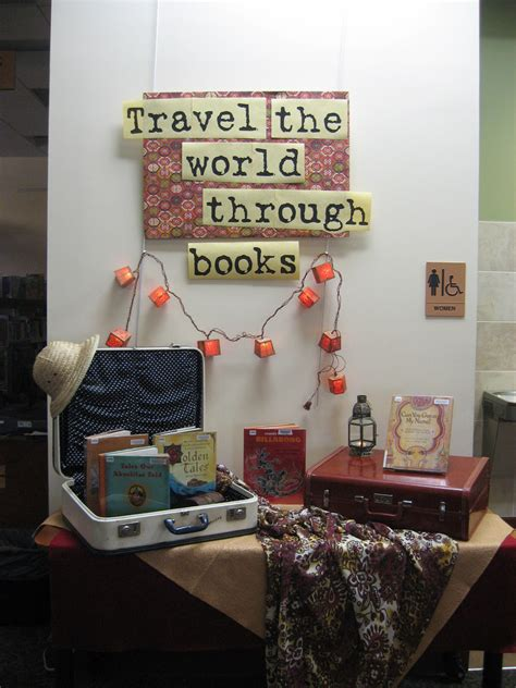 book display ideas one world many stories cslp 2011 decorating ideas