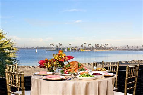 catamaran thanksgiving brunch where to celebrate thanksgiving in san diego