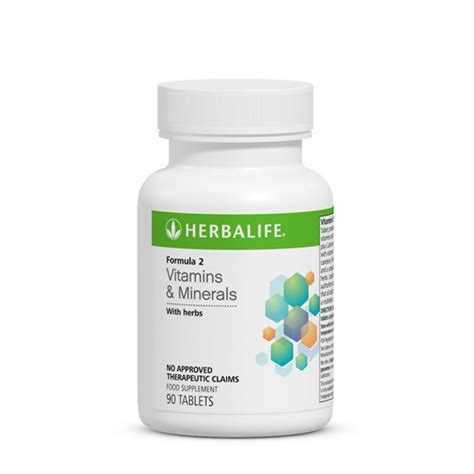 Vitamin Herbalife Formula 2 Multivitamin Complex Vitamins And Minerals