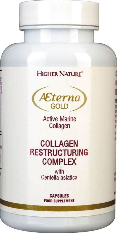 Nature S Health Collagen Complex higher nature aeterna gold collagen restructuring complex