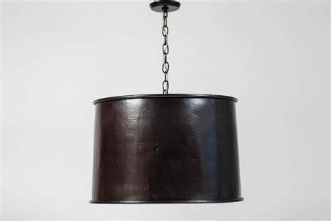 Copper Lighting Fixture Copper Drum Light Fixture At 1stdibs