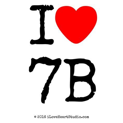 7 I Adore by I 7b Design On T Shirt Poster Mug And