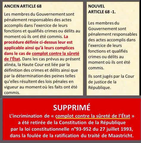 libro la trahison de la mitterand et chirac ont effac 233 haute trahison et complot contre l 233 tat de la constitution