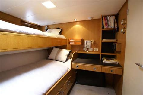 crew cabin explorer yacht sentimental journey for sale