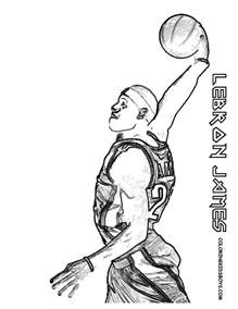 lebron coloring pages free coloring pages of lebron logo
