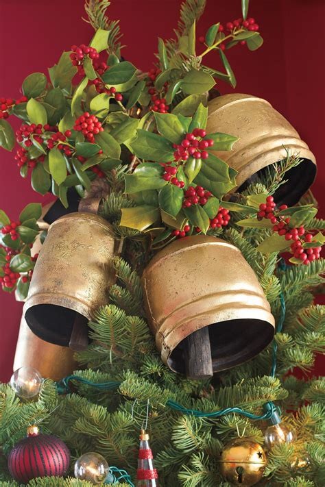 100 fresh christmas decorating ideas southern living christmas bells decoration ideas billingsblessingbags org