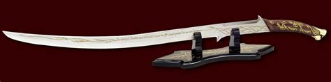 hadhafang united cutlery lord of the rings arwen s hadhafang sword replica united