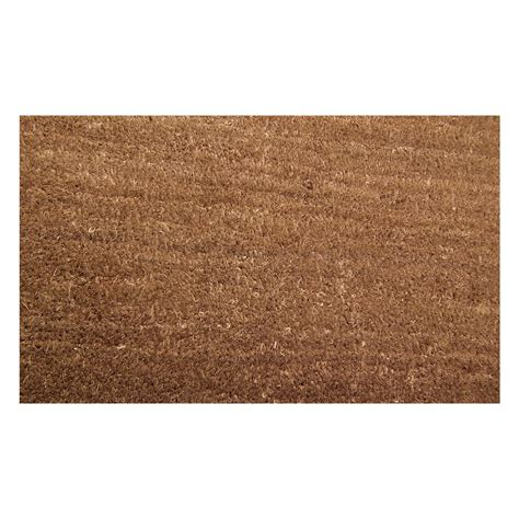 Coir And Rubber Doormat - door mat large non slip welcome rubber backed heavy duty