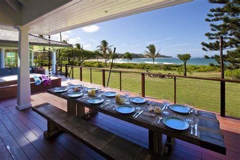 beach house kauai anahola vacation rental ginger beach house luxury kauai vacation rentals jean and