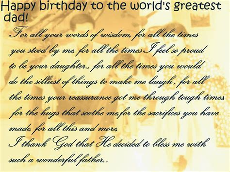 Inspirational Quotes For A On His Birthday Happy Birthday Dad Quotes For Facebook New World Of Fun