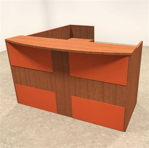 Acrylic Reception Desk 3pc L Shaped Modern Acrylic Panel Office Reception Desk Ot Sul Ro33 H2o Furniture