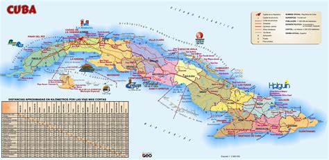 printable map havana large detailed travel map of cuba