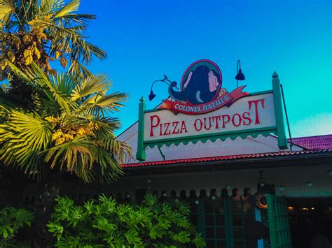 colonel hathi s pizza outpost paradise found around
