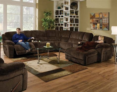 chocolate brown sectional sofa with chaise best 25 reclining sectional sofas ideas on
