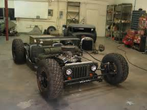 Hotrod Jeep Willys Jeep Rat Rod Cars And Bikes