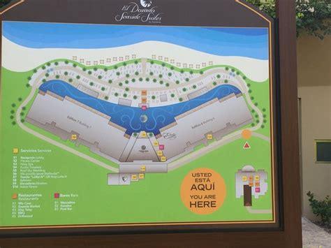 layout eldorado instagram layout of sensimar and el dorado sections of the resort