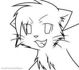 how to color lineart warrior cats lineart by jayfeatherishepic on deviantart