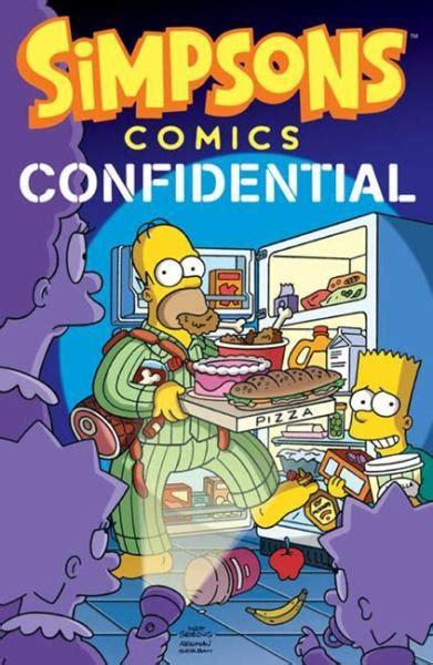 Big Brilliant Book Of Bart simpsons comics confidential 9780062115324 comprar