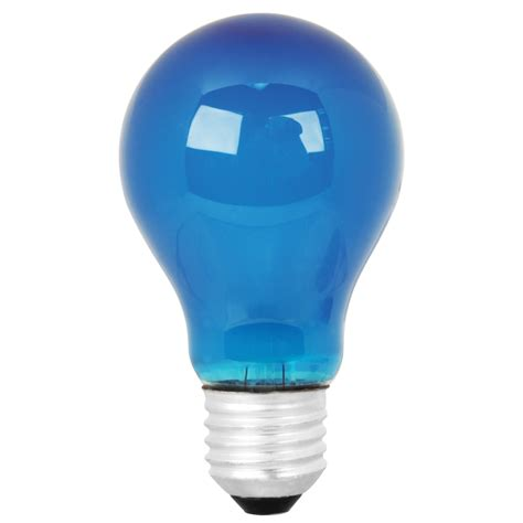 blue light bulbs for sad shop mood lites 25 watt medium base e 26 light blue