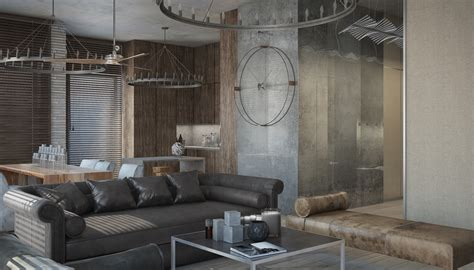 Concrete Loft | 3 concrete lofts with wide open floor plans