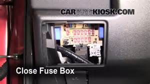 interior fuse box location 2008 2013 nissan rogue 2008 nissan rogue sl 2 5l 4 cyl