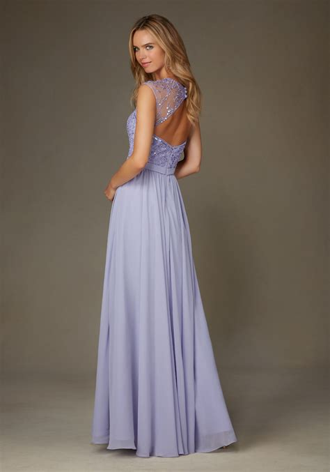 beaded bridesmaids dresses chiffon with beading bridesmaid dress with cap