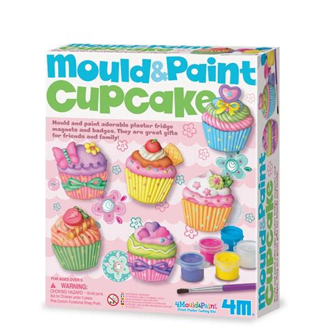 Mould Paint Cupcake 4m cupcake mould and paint crocodile stores