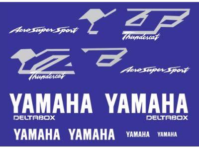 Yamaha Thundercat Aufkleber by Yzf 600r Thundercat 1998 2001 Set Eshop Stickers