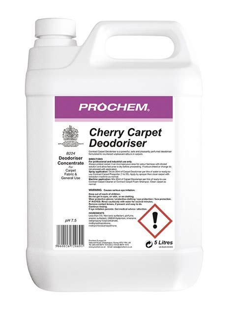 West Midlands Upholstery Cherry Carpet Deodoriser B224 Carpet Upholstery