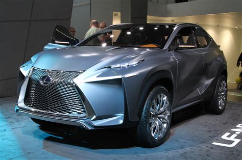 Lexus Lf Nx Crossover Concept Is One Mean Looking Hybrid