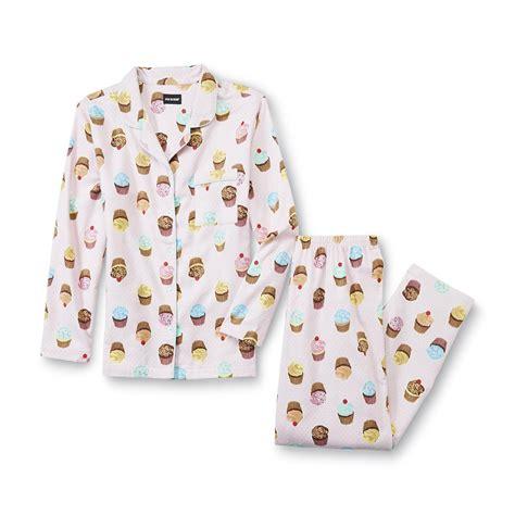 Muffin Piyama Cotton Pajamas joe boxer s flannel pajama shirt cupcake