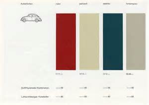 Vw Beetle Upholstery Thesamba Com Vw Archives 1966 Vw Beetle 1200a Colors