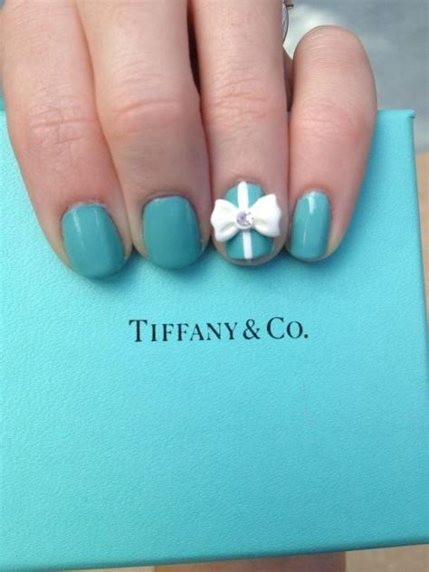 tiffany blue office on pinterest pedicure salon ideas my tiffany co nails nails pinterest nail art