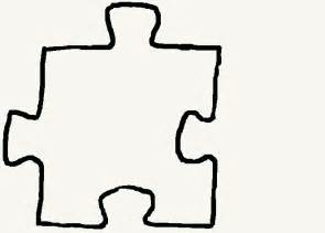 puzzle cut out template free coloring pages of large puzzle pieces