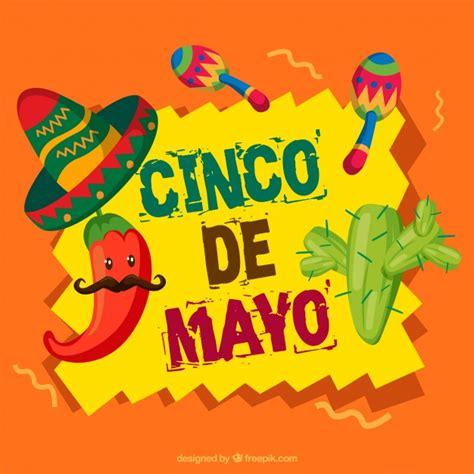 cinco de mayo background background with great elements for cinco de mayo