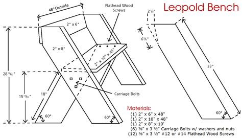 leopold bench woodworking plans outdoor garden patio furniture