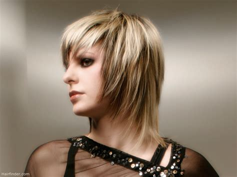 women medium tapered haircut medium length hairstyle with a tapered cutting line around