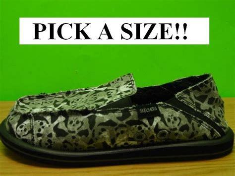 skechers house slippers new skechers black halloween skulls house shoes slippers girls womens 5 ebay